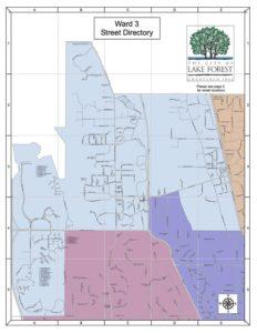Ward 3 - Street Directory