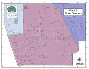 Ward 4 - Street Directory